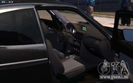 VAZ 2172 R17 für GTA 4 hinten links Ansicht
