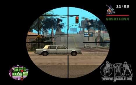 AWP Dragon Lore CS:GO für GTA San Andreas dritten Screenshot