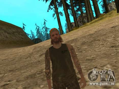 Cletus Ewing de GTA V pour GTA San Andreas troisième écran