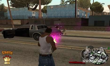 C-HUD Ghetto King für GTA San Andreas zweiten Screenshot