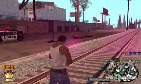 C-HUD Ghetto King für GTA San Andreas dritten Screenshot