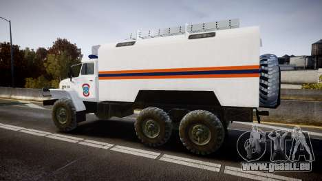 Ural 4320 MES pour GTA 4 est une gauche