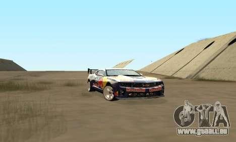 Chevrolet Camaro ZL1 RedBull für GTA San Andreas