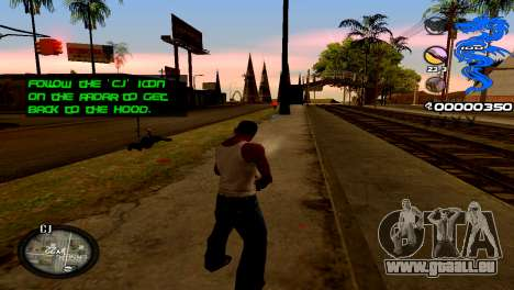 C-HUD Dragon für GTA San Andreas zweiten Screenshot