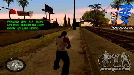 C-HUD Dragon für GTA San Andreas zweiten Screenshot
