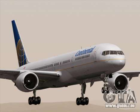 Boeing 757-200 Continental Airlines für GTA San Andreas