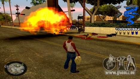 C-HUD Dragon pour GTA San Andreas troisième écran