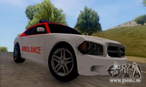 Dodgle Charger Ambulance pour GTA San Andreas