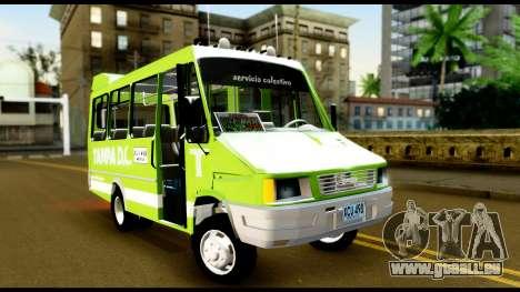 Iveco Minibus pour GTA San Andreas