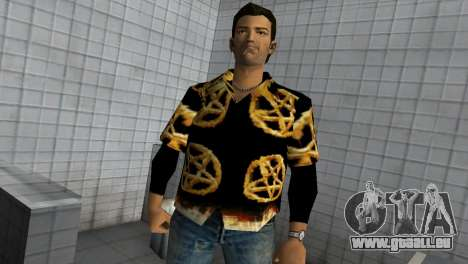 Pentagram Shirt für GTA Vice City zweiten Screenshot