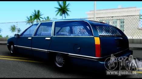 Elegant Station Wagon pour GTA San Andreas laissé vue