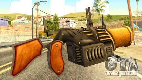 Grenade Launcher from Redneck Kentucky pour GTA San Andreas deuxième écran