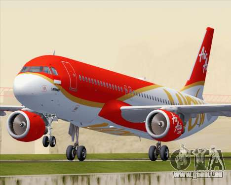 Airbus A320-200 Indonesia AirAsia WOW Livery pour GTA San Andreas