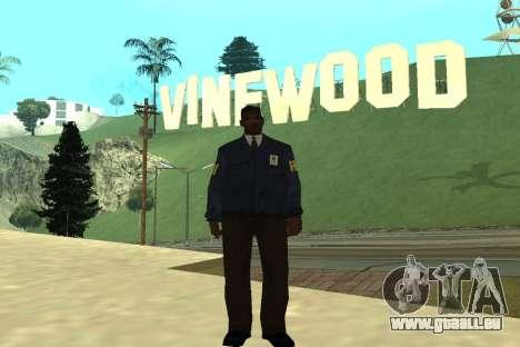 Black Police All pour GTA San Andreas deuxième écran