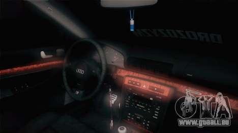 Audi S4 Avant für GTA San Andreas Rückansicht