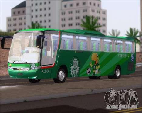Busscar Vissta Buss LO Palmeiras pour GTA San Andreas laissé vue
