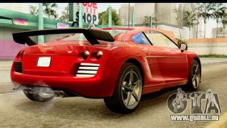 GTA 5 Obey 9F Coupe SA Mobile pour GTA San Andreas laissé vue