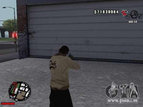 C-Hud OLD pour GTA San Andreas troisième écran