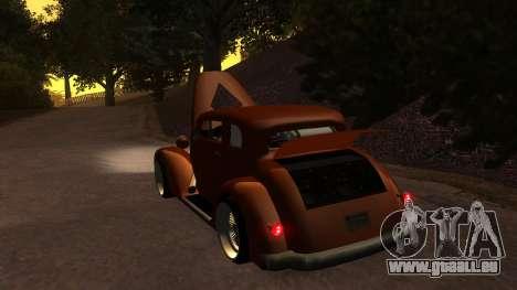 New Hustler für GTA San Andreas Innenansicht