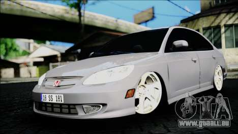 Honda Civic 2005 VTEC pour GTA San Andreas