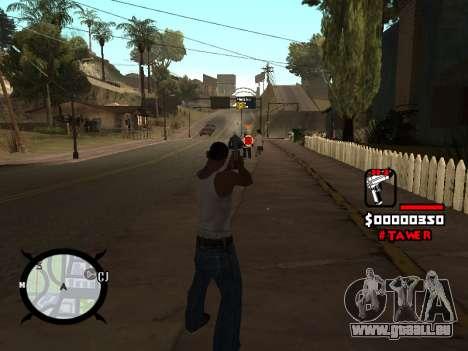 HUD by LokoMoko pour GTA San Andreas troisième écran