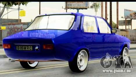 Dacia 1300 B 89 WRC pour GTA San Andreas laissé vue