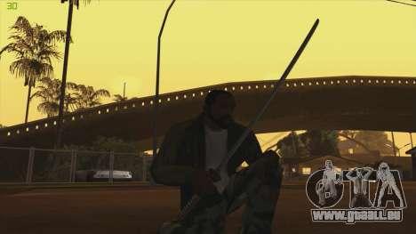 Katana from Killingfloor pour GTA San Andreas