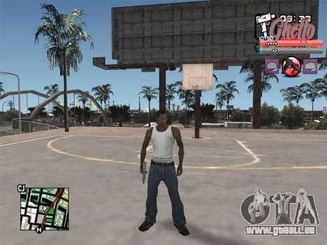 C-HUD Ghetto pour GTA San Andreas troisième écran