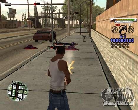 C-HUD by Adam für GTA San Andreas her Screenshot