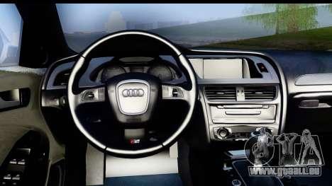 Audi S4 für GTA San Andreas rechten Ansicht