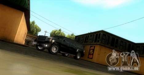 GTA 5 FIB Granger pour GTA San Andreas laissé vue