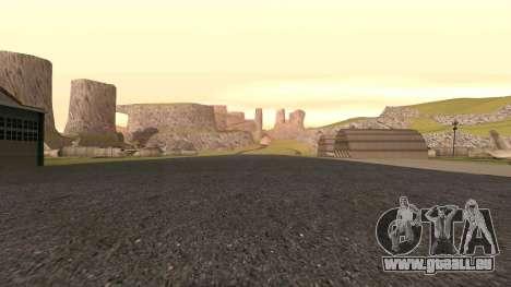 Verdir le désert pour GTA San Andreas sixième écran