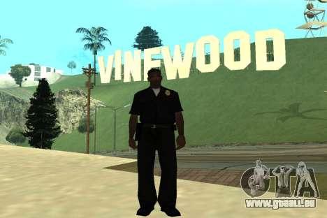 Black Police All für GTA San Andreas fünften Screenshot
