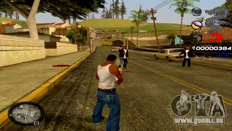 C-HUD Dragon für GTA San Andreas sechsten Screenshot