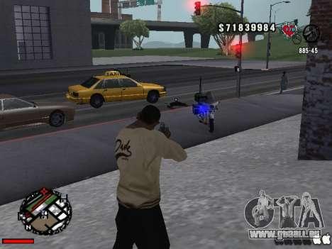 C-Hud OLD pour GTA San Andreas deuxième écran