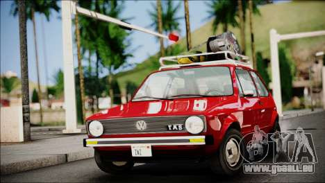 Volkswagen Golf 1 TAS Sarajevo für GTA San Andreas