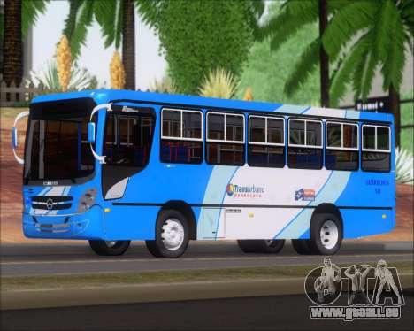 Caio Foz Super I 2006 Transurbane Guarulhoz 541 pour GTA San Andreas sur la vue arrière gauche