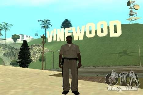 Black Police All pour GTA San Andreas troisième écran