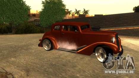 New Hustler pour GTA San Andreas laissé vue