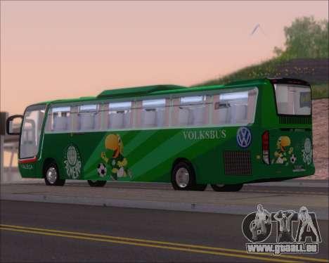 Busscar Vissta Buss LO Palmeiras pour GTA San Andreas vue de droite