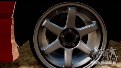 Nissan 180SX für GTA San Andreas Rückansicht