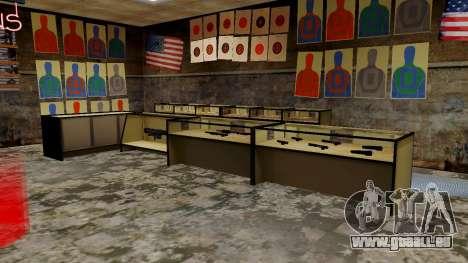 Les modèles 3D des armes dans l'Ammu-nation pour GTA San Andreas septième écran
