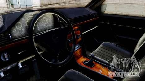 Mercedes-Benz W124 pour GTA San Andreas vue de droite