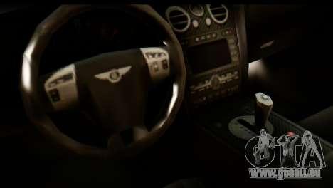 Bentley Continental VIP Stance Style für GTA San Andreas rechten Ansicht