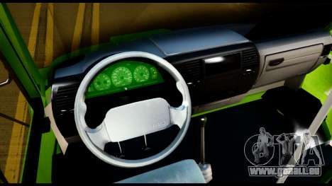Iveco Minibus für GTA San Andreas Rückansicht