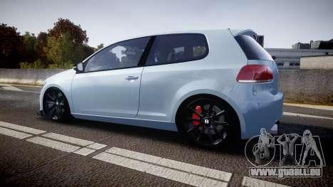 Volkswagen Golf R für GTA 4 linke Ansicht