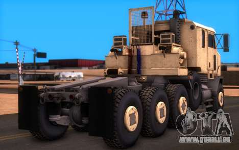 Oshkosh M1070 HET Tank Transporter für GTA San Andreas linke Ansicht