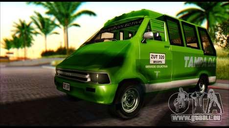 Toyota Microbus für GTA San Andreas