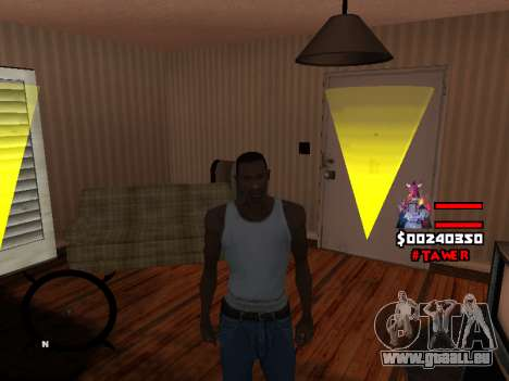 HUD by LokoMoko für GTA San Andreas her Screenshot