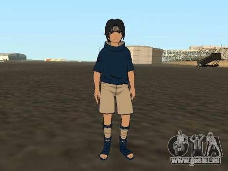 Sasuke Uchiha pour GTA San Andreas